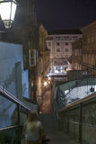 Night Zagreb royalty free stock image