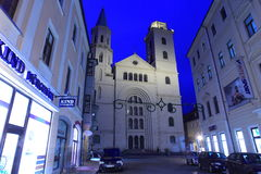 Night Zittau Stock Image