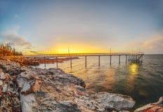 Nightcliff Jetty, terytorium północny, Australia Fotografia Stock