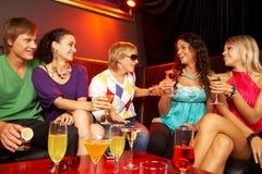In the nightclub Royalty Free Stock Photo