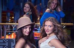 In nightclub Stock Photography