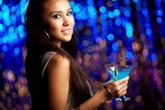 At nightclub Stock Image