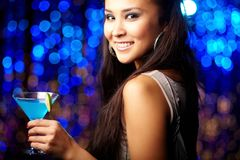 At nightclub Royalty Free Stock Images