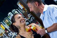 In the nightclub Royalty Free Stock Photos
