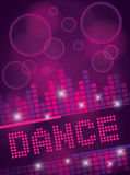 Nightclub Dance Background Design Stock Photography
