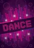 Nightclub Dance Background Design Royalty Free Stock Images