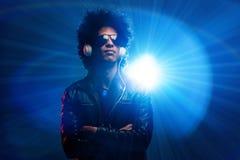 Nightclub dj Stock Images