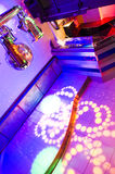 Nightclub Interiior Royalty Free Stock Photography