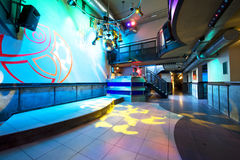 Nightclub interior. The interior of a hip and trendy nightclub Royalty Free Stock Photography