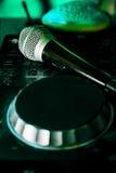 Nightclub. Parties DJ. sound equipment Royalty Free Stock Photos