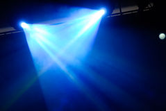 Nightclub stage background Stock Photography