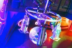 Nightclub strobes Stock Photo