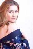 Nightdress kobieta Zdjęcia Royalty Free