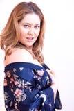Nightdress woman Royalty Free Stock Image