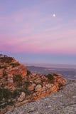 Nightfall on Mount Garbí. Valencian Community. Spain Royalty Free Stock Photo