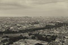 Nightfall in Paris Royalty Free Stock Images