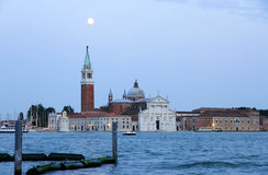 Nightfall in Venecia Royalty Free Stock Photo