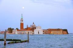 Nightfall in Venice Stock Photos