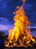 Nightfire Royalty Free Stock Photo
