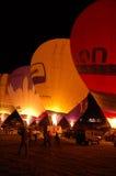 Nightglow, Bristol-internationale Ballon-Fiesta Lizenzfreies Stockbild