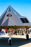 Nighthawk de Lockheed F-117 à la base aérienne de Barksdale Photo stock