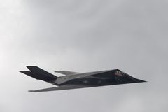 Nighthawk F-117 (chasseur de discrétion d'aka) Photo libre de droits