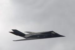 Nighthawk F-117 (combatiente de la cautela del aka) Foto de archivo libre de regalías