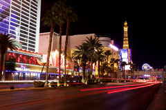 Nightlife along the Las Vegas Strip Royalty Free Stock Photos