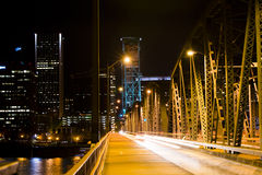Nightlife of big city Royalty Free Stock Photography
