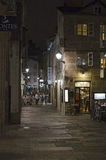 Nightlife in Compostela Royalty Free Stock Photography