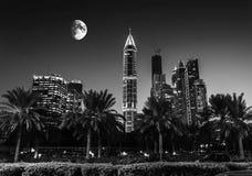 Nightlife in Dubai. UAE Stock Photo