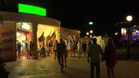 Nightlife in the Golden Sands resort. Varna. Bulgaria. 4K. Nightlife in the Golden Sands resort. Varna. Bulgaria. Shot in 4K (ultra-high definition (UHD)), so stock video footage
