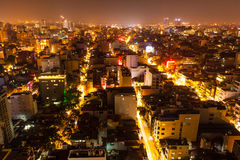 Nightlife in Hanoi Stock Photos
