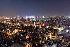 Nightlife in Hanoi Royalty Free Stock Photos