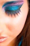 Nightlife makeup Royalty Free Stock Images