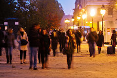 Nightlife in Paris Royalty Free Stock Photos