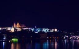 Nightlife in Prague Royalty Free Stock Image