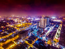 Medan. We take this photo with 4K Dji Phantom 3 Professional Drone. This picture taken from Medan,Indonesia Stock Images