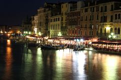 Nightlife in Venice Stock Images
