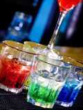 Nightly cocktail Royalty Free Stock Photography