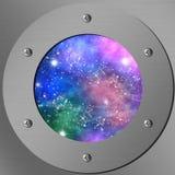 Nightly himmel vektor illustrationer