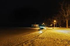 Nightly promenad Royalty Free Stock Photo