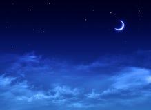Nightly sky Stock Image