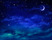 Nightly sky Royalty Free Stock Images