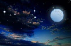 Nightly sky Royalty Free Stock Image