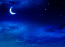 Nightly sky with stars Stock Photography