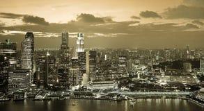 Nightly skyline Stock Photo