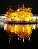 Nightly view of Golden Temple Royalty Free Stock Photo