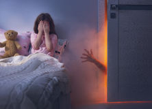 Nightmare for children. Stock Photos