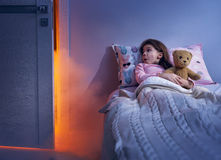 Nightmare for children. Royalty Free Stock Photos